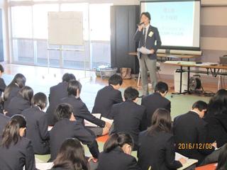 地域貢献事業 都立赤羽商業高等学校